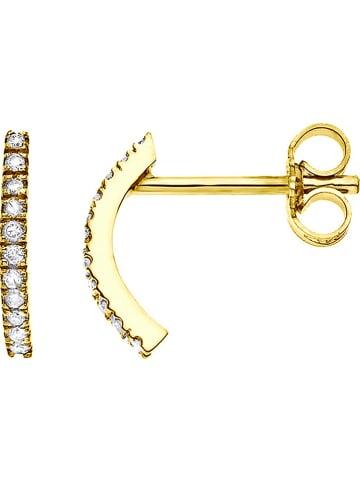 DYAMANT Gold-Ohrstecker mit Diamanten