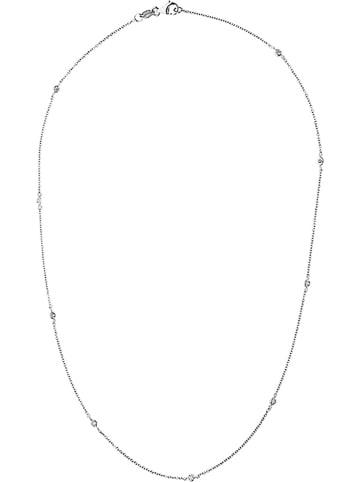 DYAMANT Weißgold-Halskette mit Diamanten - (L)42 cm