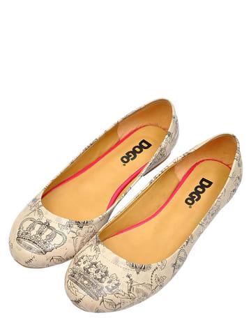 """Dogo Ballerina's """"Royal"""" beige"""