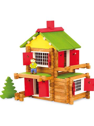 """Jeujura 135tlg. Bauset """"Mein Holzhaus"""" - ab 5 Jahren"""