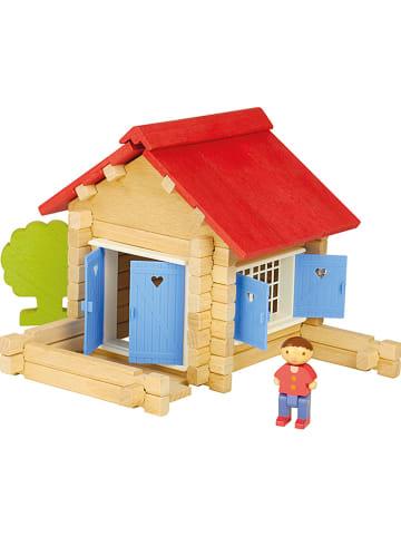 "Jeujura 70tlg. Bauset ""Holzhaus"" - ab 5 Jahren"