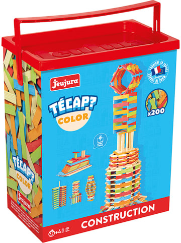 """Jeujura 200-częściowy zestaw klocków """"Técap Color"""""""