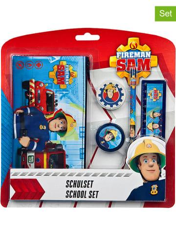 Feuerwehrmann Sam 5-częściowy zestaw przyborów szkolnych
