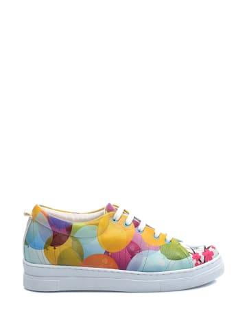 Streetfly Sneakersy ze wzorem
