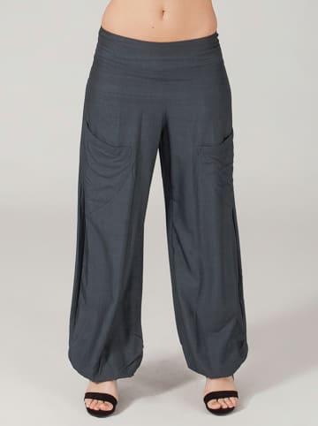 Aller Simplement Spodnie w kolorze szarym