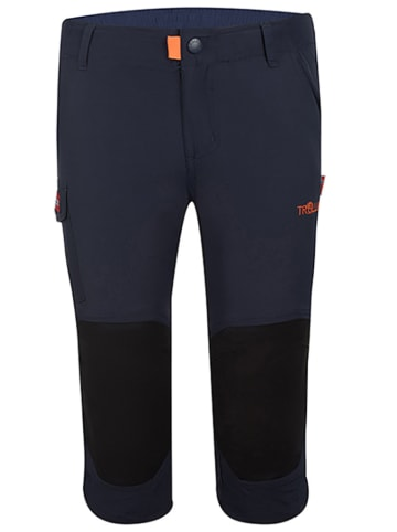 """Trollkids Spodnie trekkingowe 3/4 """"Hammerfest"""" w kolorze granatowym"""