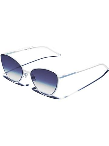 Marc Jacobs Damskie okulary przeciwsłoneczne w kolorze biało-szarym