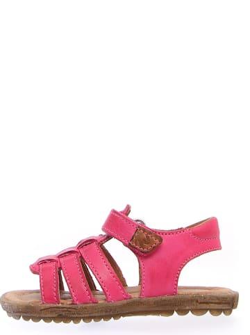 Naturino Leren sandalen roze