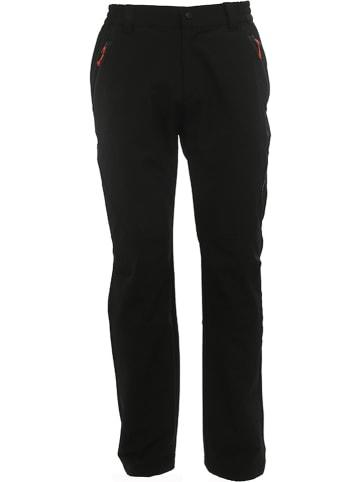 Peak Mountain Spodnie funkcyjne w kolorze czarnym