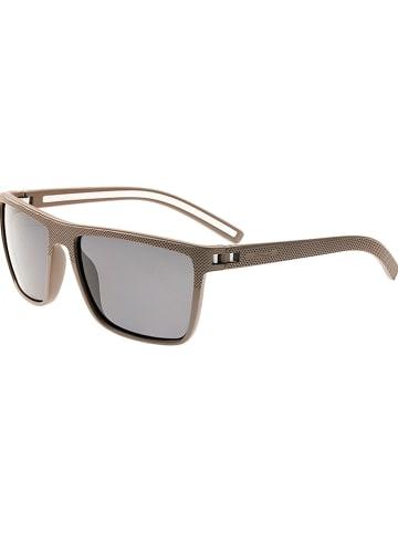 """Simplify Okulary przeciwsłoneczne unisex """"Dumont"""" w kolorze szarobrązowo-czarnym"""