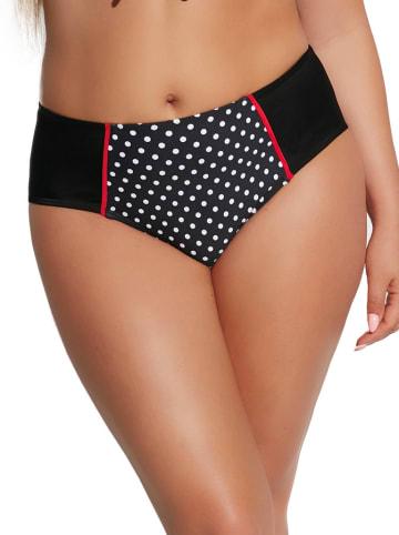 "Kris Line Bikinislip ""Mademoiselle"" zwart/wit/rood"