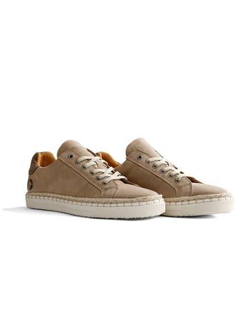 "TRAVELIN' Leder-Sneakers ""Moulins"" in Beige"