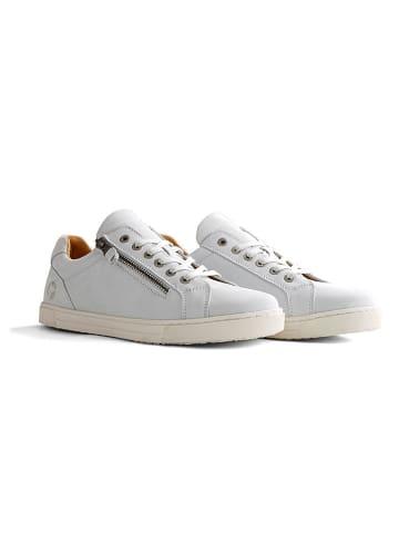 """TRAVELIN' Leren sneakers """"Roanne"""" wit"""