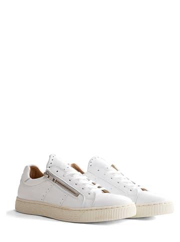 """NoGRZ Leren sneakers """"G. Leoni"""" wit"""