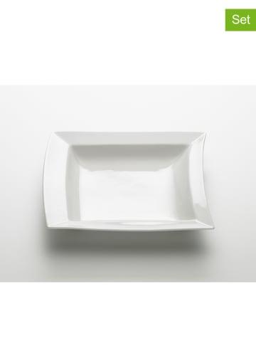 "Maxwell & Williams 3-delige set: soepborden ""Sway"" wit - (L)24 x (B)23 cm"