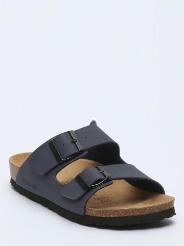 "BACKSUN Slippers ""Bali"" antraciet"