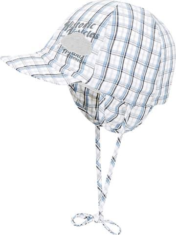 Döll Mütze in Blau/ Grau/ Weiß