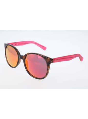 Guess Damen-Sonnenbrille in Pink-Braun/ Pink