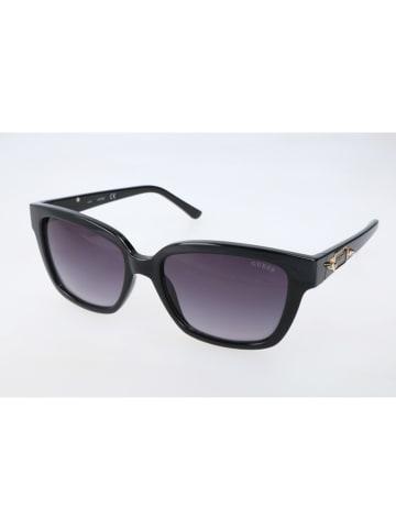 Guess Damen-Sonnenbrille in Schwarz/ Lila