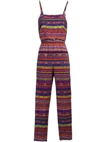 KÉAWA Jumpsuit paars/meerkleurig