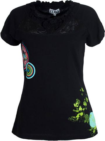 KÉAWA Koszulka w kolorze czarnym