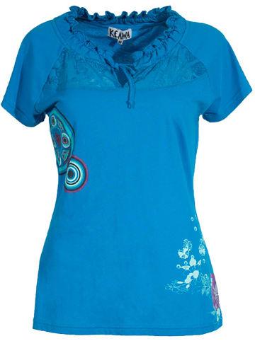 KÉAWA Shirt blauw