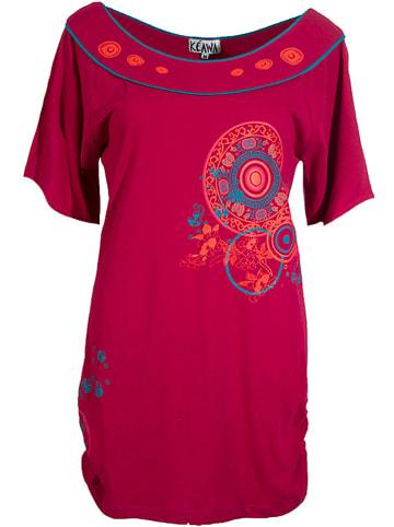 KÉAWA Koszulka w kolorze fuksji