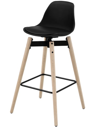 """AC Design Hoker barowy """"Zenta"""" w kolorze czarnym - 48,5 x 94 x 49 cm"""