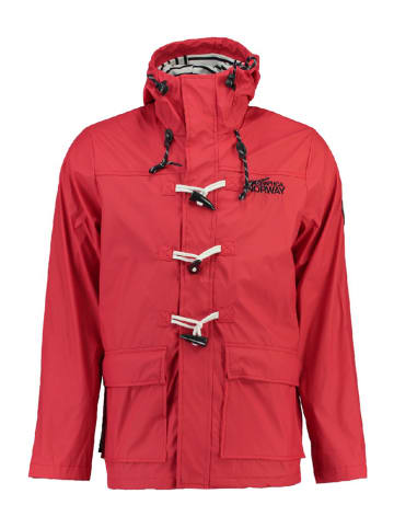 "Geographical Norway Regenjas ""Crunch"" rood"