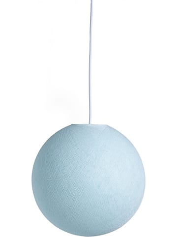 Cotton Ball Lights Hängeleuchte in Hellblau - Ø 36 cm