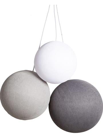 Cotton Ball Lights Hanglamp grijs/wit