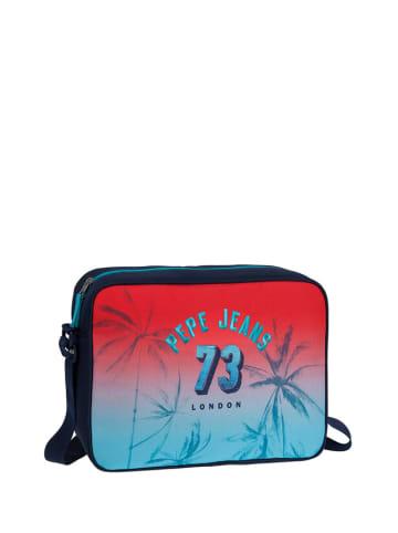 Pepe Jeans Torba w kolorze czerwono-niebieskim na laptopa - (S)38 x (W)28 x (G)12 cm