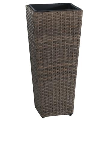Gartenfreude Doniczka w kolorze brązowym - 28 x 60 x 28 cm
