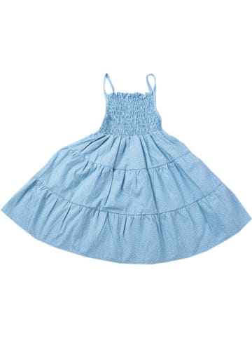 Deux ans de vacances Sukienka w kolorze niebieskim