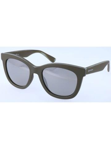 BOSS Orange Damen-Sonnenbrille in Braun/ Silber