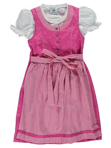 Isartrachten Dirndl in Pink/ Rosa