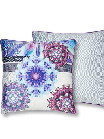 """Hip Poszewka """"Jayanti"""" w kolorze fioletowym ze wzorem na poduszkę"""
