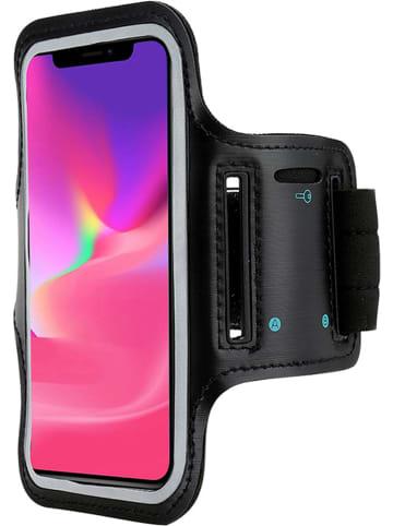 WHIPEARL Opaska sportowa w kolorze czarnym do iPhone X