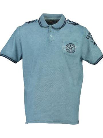 "Canadian Peak Poloshirt ""Kames"" in Blau"