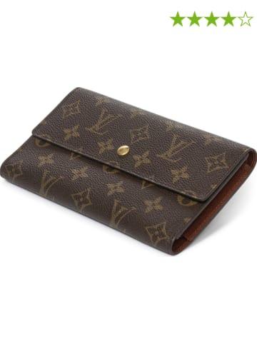 """Louis Vuitton Geldbörse """"International"""" in Braun - (B)19 x (H)10,5 x (T)1 cm"""