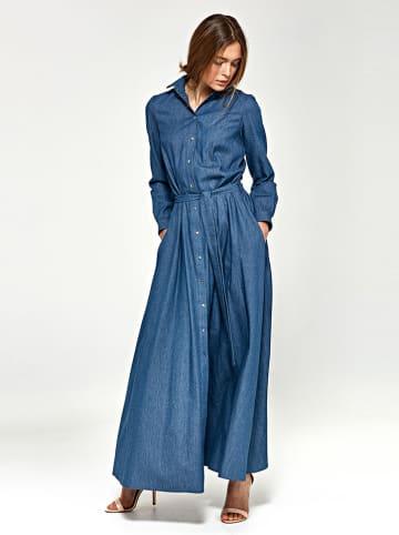 Nife Sukienka w kolorze niebieskim