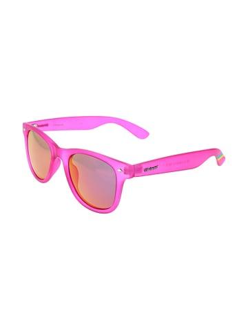 """Polaroid Okulary przeciwsłoneczne """"6009/N S"""" w kolorze różowo-pomarańczowym"""