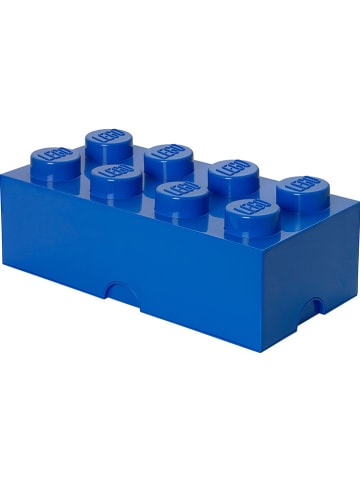 "LEGO Opbergbox ""Brick 8"" donkerblauw - (B)50 x (H)18 x (D)25 cm"