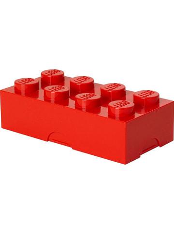 "LEGO Lunchbox ""Classic Brick 8"" in Rot - (B)20 x (H)7,3 x (T)10 cm"