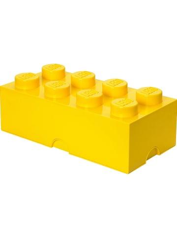 "LEGO Aufbewahrungsbox ""Brick 8"" in Gelb - (B)50 x (H)18 x (T)25 cm"