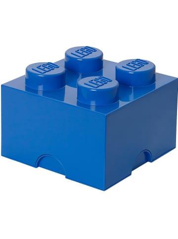 """LEGO Pojemnik """"Brick 4"""" w kolorze granatowym - 25 x 18 x 25 cm"""