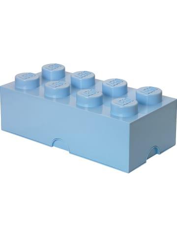 "LEGO Opbergbox ""Brick 8"" blauw - (B)50 x (H)18 x (D)25 cm"