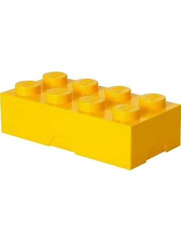 """LEGO Pojemnik """"Classic Brick 8"""" w kolorze żółtym na lunch - 20 x 7,3 x 10 cm"""