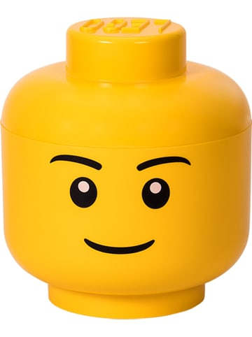 "LEGO Opbergbox ""Boy"" geel - (H)27,1 x Ø 24 cm"