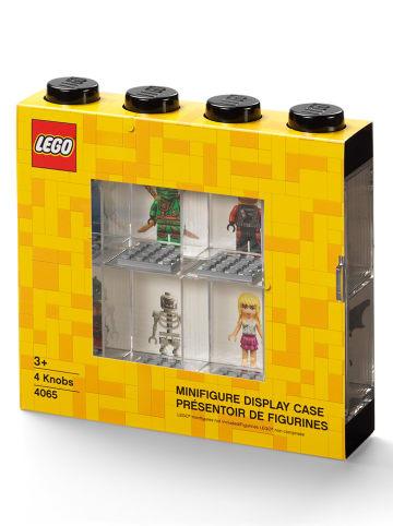 LEGO Vitrine voor figuren zwart - (B)19,1 x (H)18,4 x (D)4,7 cm
